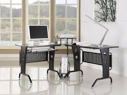 l shaped corner office desk chic corner office desk oak