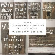 20x14 custom multi board barn wood sign you design by christine glodt on custom wall art wood with custom signs personalized wood signs custommade