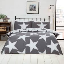 all stars duvet set grey