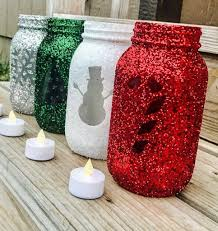 Mason Jars Decorated For Christmas Holiday Mason Jars set of 60 Christmas decorations Holiday 39