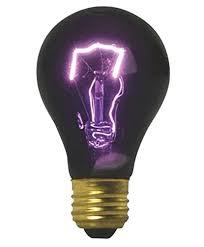 Black Light Lamp Bulbs Vei Black Light Bulb Halloween Party Lighting 75w Eerie Glow Effect Blacklite