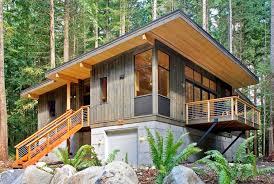 high quality prefab modern country cabin idesignarch interior pertaining to  modern prefab cabin Modern Prefab Cabin