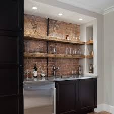 If you are thinking of a kitchen renovation project focus on the layout. 75 Beautiful Single Wall Home Bar Pictures Ideas May 2021 Houzz