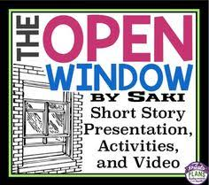 the open window by saki study guide chapter summaries book  the open window by saki study guide chapter summaries book synopsis character lists quotes and more help on your homework exams and essays