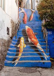 Painted Stairs Creative Ideas For Painting Staircase Ultimate Home Ideas