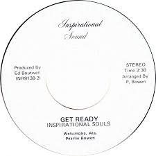 45cat - Inspirational Souls [Alabama] - When All Gods Children Get Together  / Get Ready - Inspirational Sound - USA