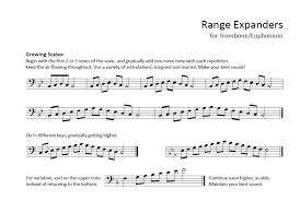 Baritone Scale Finger Chart Brass Teaching Materials Dale Sorensens Blog