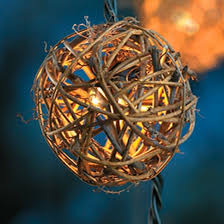 decorative string lighting. 10ct decorative string lightsgrapevine ball cover threshold lighting d