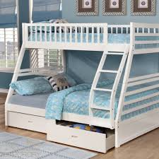 white bunk bed with stairs. Exellent Bed Fraser Bunk Bed  Inside White With Stairs S