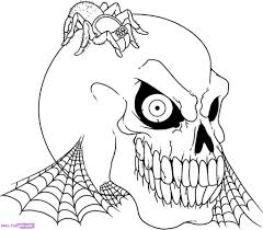 Small Picture Halloween Scene Coloring Pages PrintablesScenePrintable Coloring