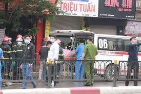 Hà Nội: 4 người tử vong trong vụ cháy lớn ở cửa hàng đồ sơ sinh trên phố  Tôn Đức Thắng