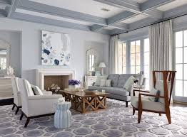 Example of a large coastal formal dark wood floor living room design in  Jacksonville with gray