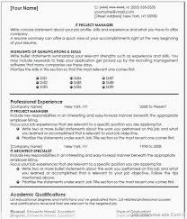 Construction Management Resume Best Project Manager Resume Examples