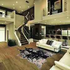 lovely faux animal hide rugs for faux animal friendly hide rug in black with white 27