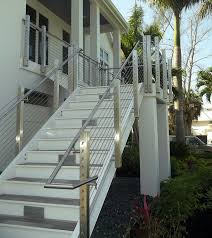 Stairs, Astounding Exterior Stair Railing Outdoor Stair Railing Kit Silver  Metal Stair Railing Outdoor: