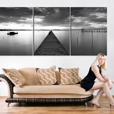 extra large wall art large canvas print wood pier 3 panel can on large white wood wall art with shop large wood wall art on wanelo