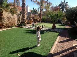 Artificial Grass Carpet Naco Arizona Home And Garden Backyard Design
