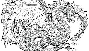 Coloring Pages To Print Hard Coloring Pages Of Dragons Dragon Page