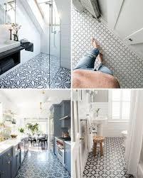 Patterned Floor Tiles Bathroom Five Of The Best Patterned Floor Tiles For The Home