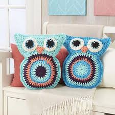 Owl Pillow Pattern Free Pattern Super Cozy And Adorable Owl Pillow Pals Http Www