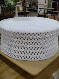 how to make an ottoman out of a round coffee table interior wicker sets amazing diy