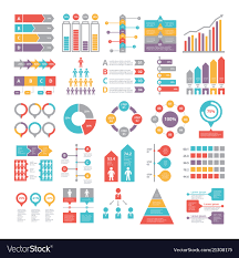 Vector Graphs And Charts Charts Graphs And Other Different Infographics