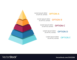 Diagram Of A Pyramid 3d Pyramid Infographic Growth Diagram