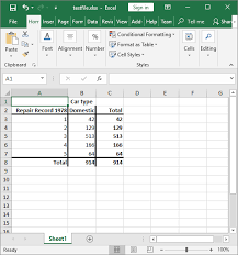 The Stata Blog » Export tabulation results to Excel—Update