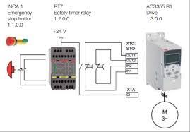 design a safe machine your abb drive control logic blog e stop to the sto drive inputs which will produce a timed stop of the motor used in applications where a synchronized stop of multiple axes is required