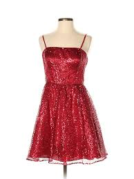 Details About Hailey Logan Women Red Cocktail Dress 7