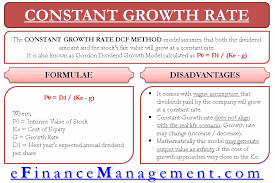 Dcf Valuation Example Constant Growth Rate Discounted Cash Flow Model Gordon