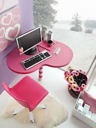 home office colorful girl. Bright Ideas To Make Colorful Teenage Girl Bedroom : Lovely With Home Office D