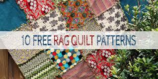 10 Free Rag Quilt Patterns & Tutorials For Beginners & 10 Free Rag Quilt Patterns & Tutorials Adamdwight.com