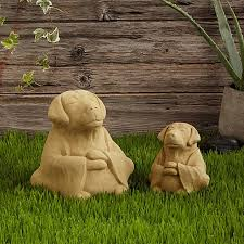 dog garden statue. Fine Dog Zen Dog Garden Sculpture And Statue A