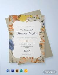 dinner template beautiful formal dinner invitation templates idea mericahotel