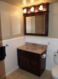 stylish modular wooden bathroom vanity. Retro Bathroom Vanity Design With Cabinet And Sink As Well Mirror Wooden Frames . Stylish Modular A