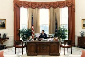 reagan oval office. White House: Oval Office Reagan