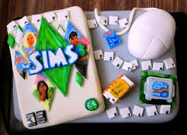 The Sims 3 Cake Omg This Is Awesome The Sims Sims