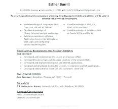 Java Resume Example Best of Java Web Sphere Developer Resume Developer Resume Examples Best Of