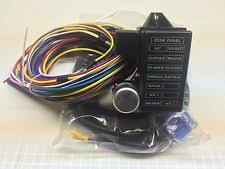 wiring harness 12 circuit universal wire harness 14 fuse 12v street hot rat muscle rod wiring