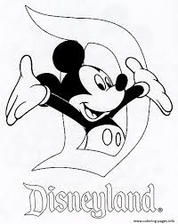 Small Picture Mickey In Disneyland Disney 120e8 Coloring Pages Printable