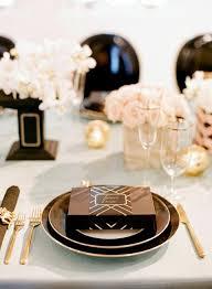 elegant black and white wedding 58 elegant black and white wedding table settings happywedd com