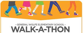 Walkathon General Wolfe Elementary