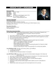 Resume Format Sample 2017 Vimosoco