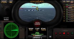 torpedo launch a featured skill based submarine arcade game