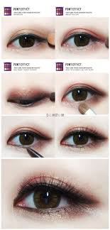 gold and rose gold eye makeup