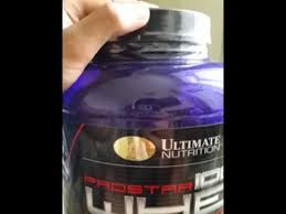 unng ultimate nutrition prostar whey protein