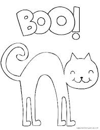 Coloring Pages Free Printables Black Cat Coloring Pages Free