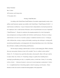 research paper research paper kelley threlkeldmrs corbettap literature and composition17 2011