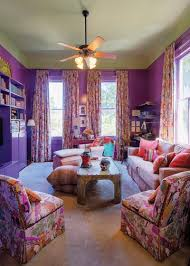 The Color Of The Purple Sitting Room Was Inspired By A Room Decorated By  Billy Baldwin
